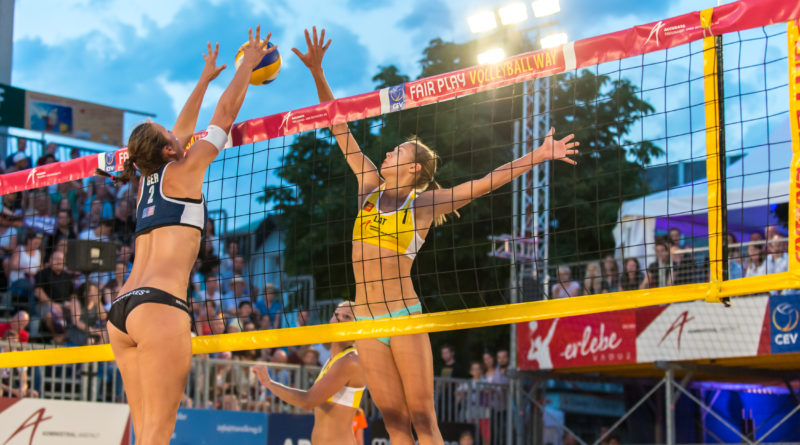 3. – 13. August: 3 Beachvolleyball-Turniere