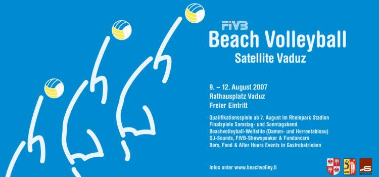 Rückblick auf 14 Jahre Beachvolleyball in Vaduz